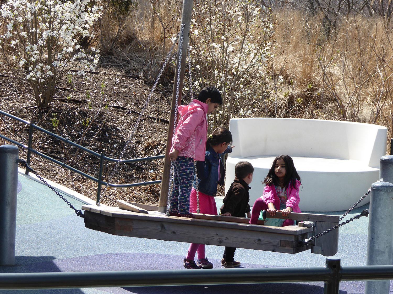 Play facilities - boats