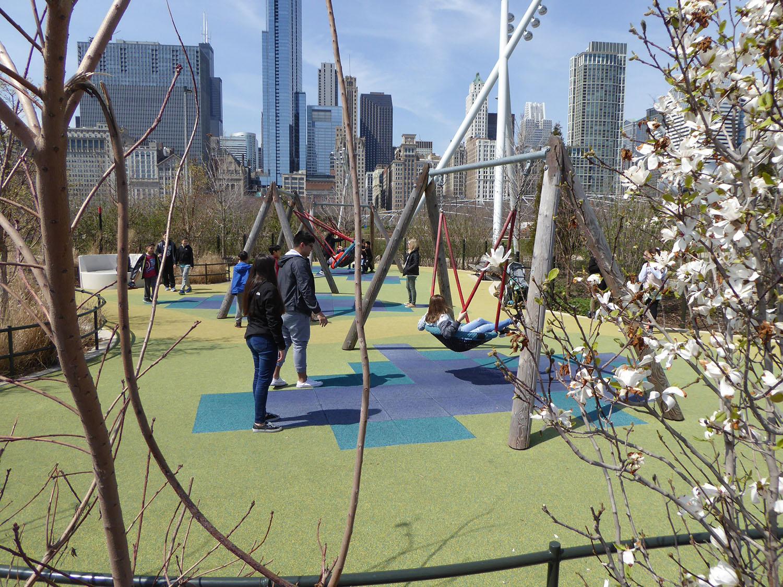 Play facilities - swings