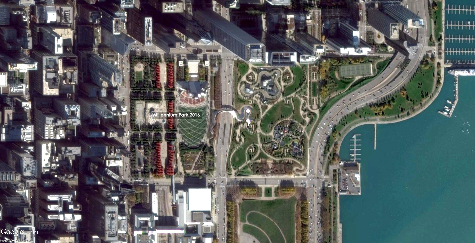 Millennium Park 2016   Source: Google Earth