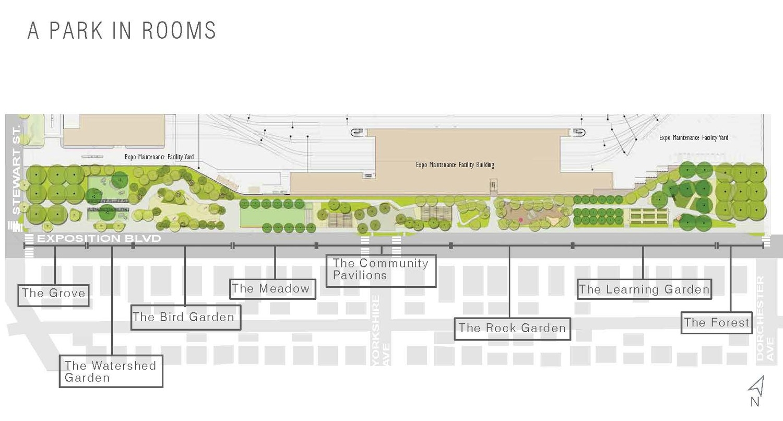 Plan of Park (source M.LA Studio)