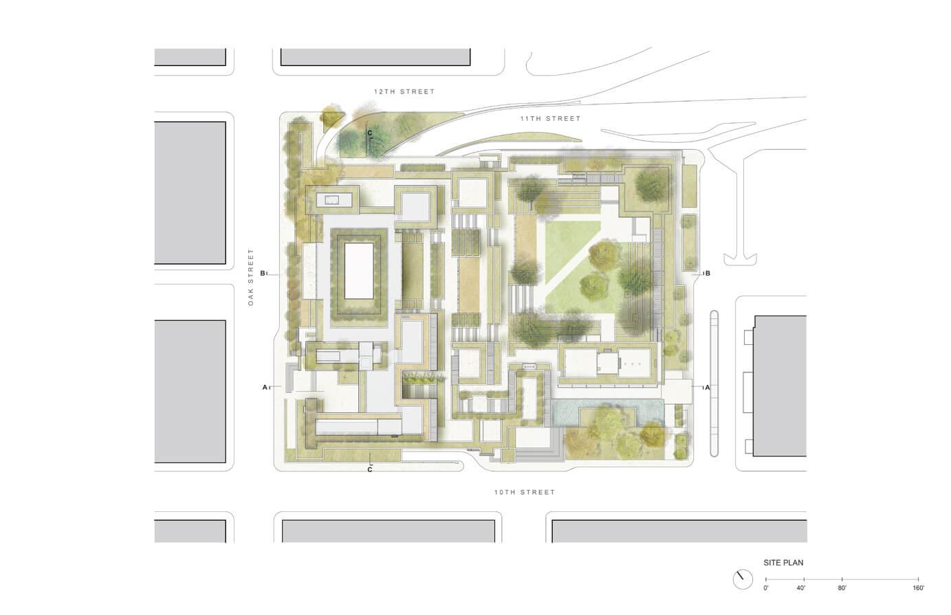 Site plan - image (www.cavagnero.com)