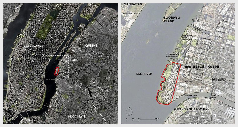 Context Hunter's Point South Project Plan   Source: New York City Economic Development Corporation
