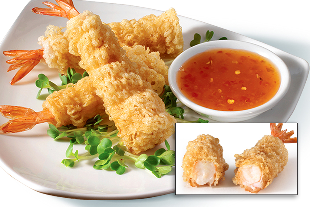 Crispy Wrapped Shrimp