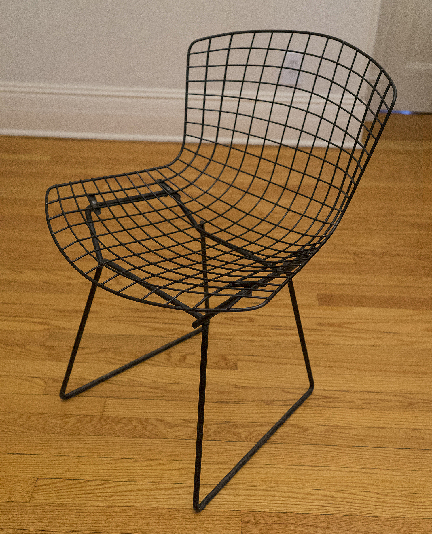 Original Harry Bertoia/Knoll Side Chair, Without Pad