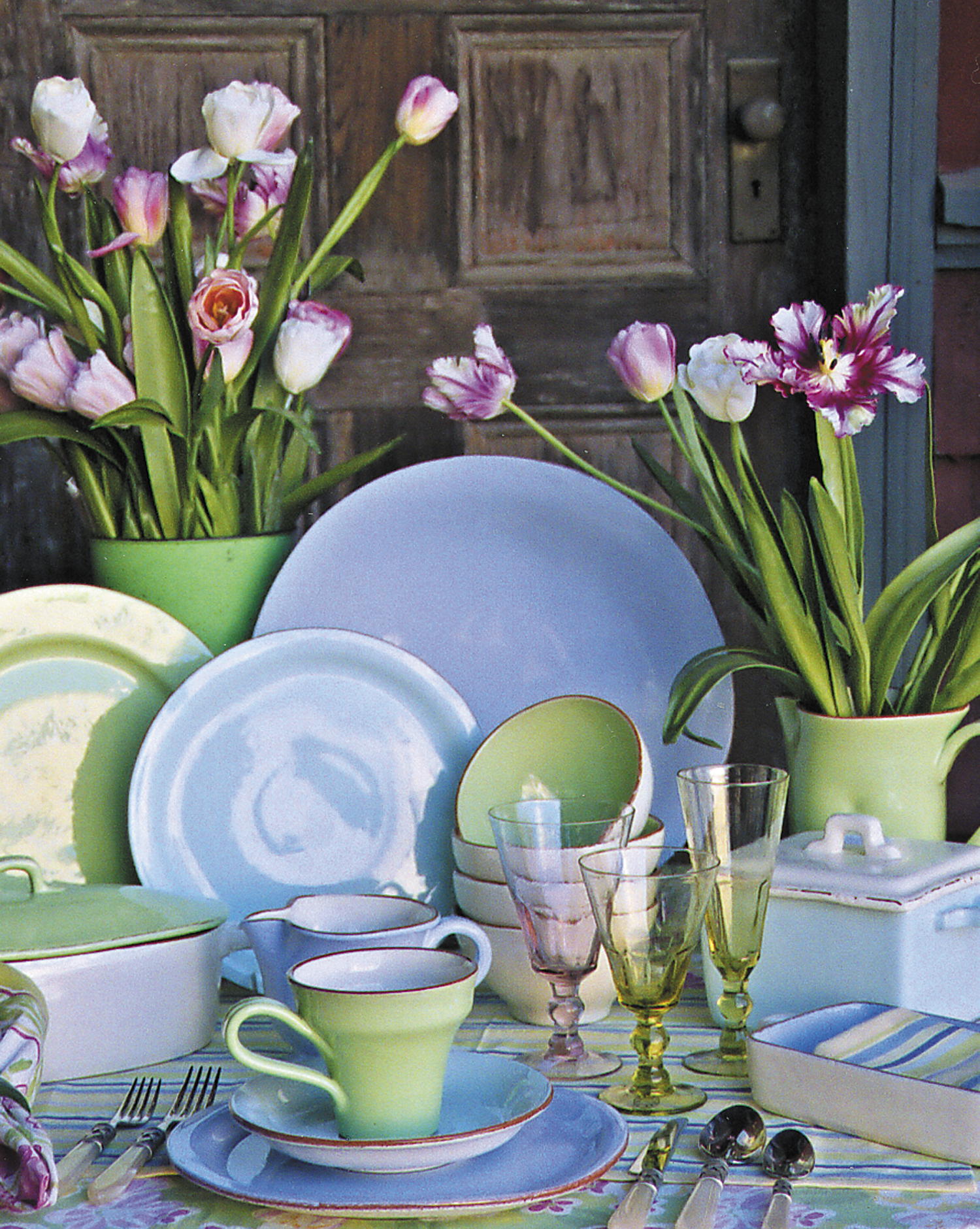 Pastel Ceramic Dinnerware