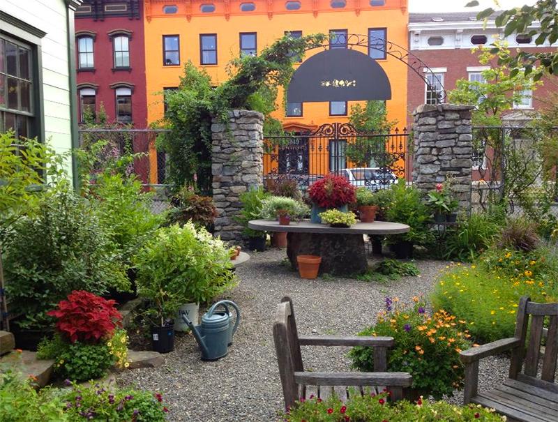 The Secret Gardener, Hudson, NY