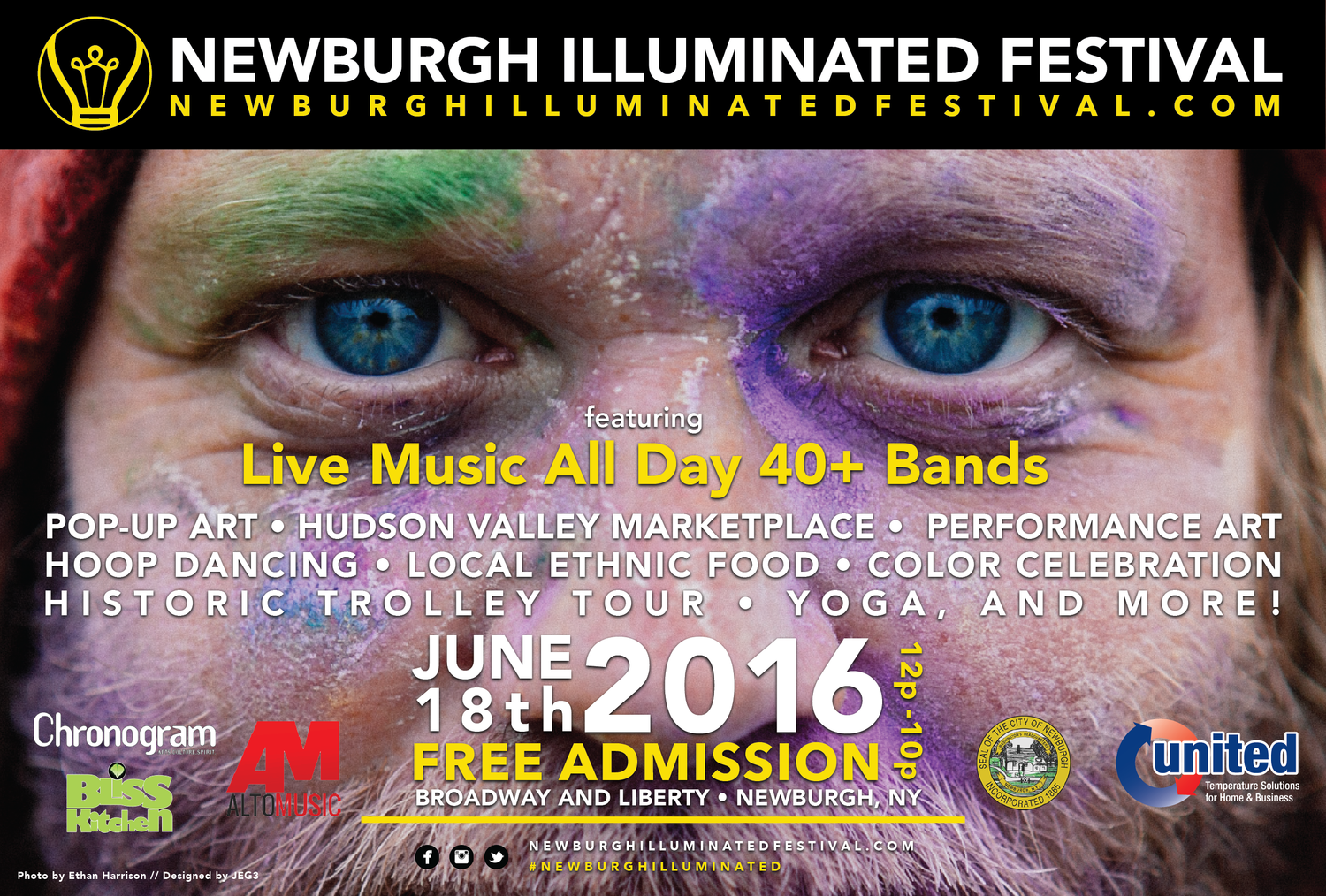 NEWBURGH ILLUMINATED FESTIVAL 2016 Celebrates All That Is Newburgh!  (Images and content posted on Newburgh Illuminated Festival website.)
