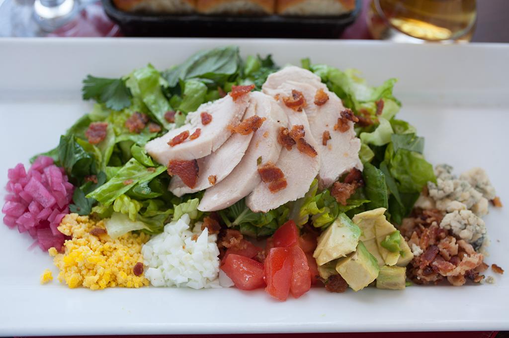 Jim's Chopped Salad at the Tavern at CIA's American Bounty Restaurant