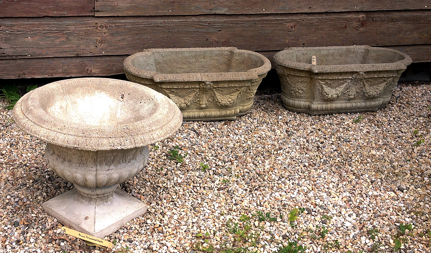 Decorative Concrete Planters
