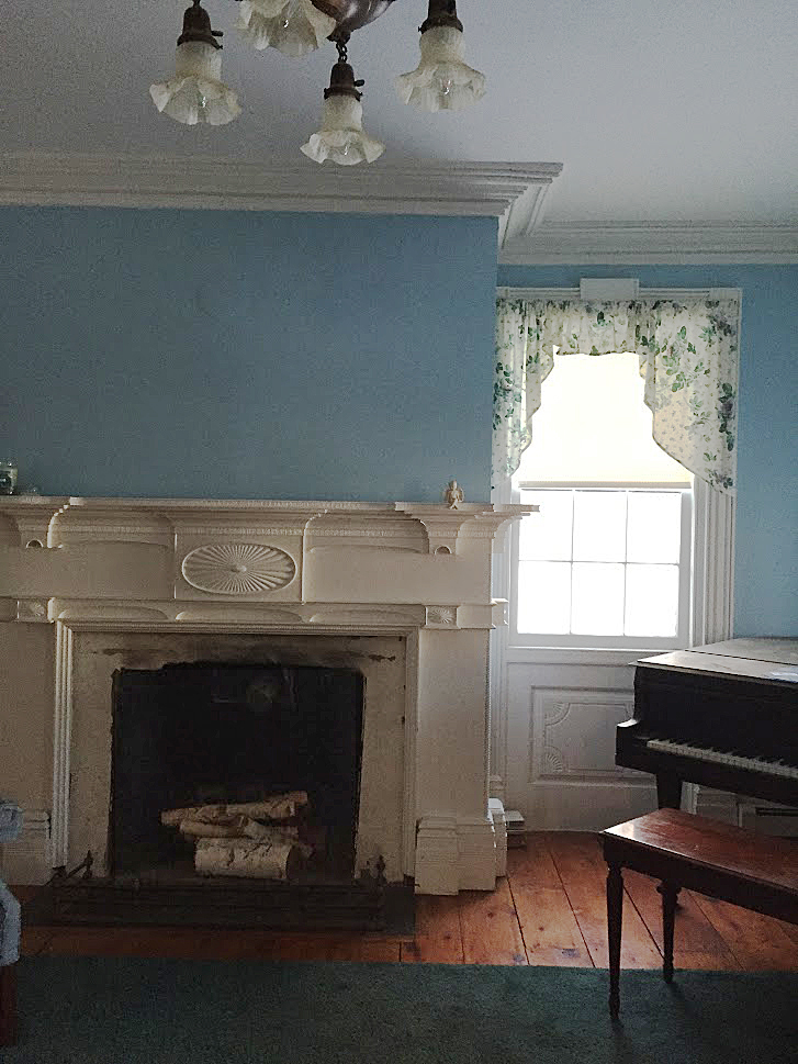 1765 Colonial in Modena, NY, Original Fireplace