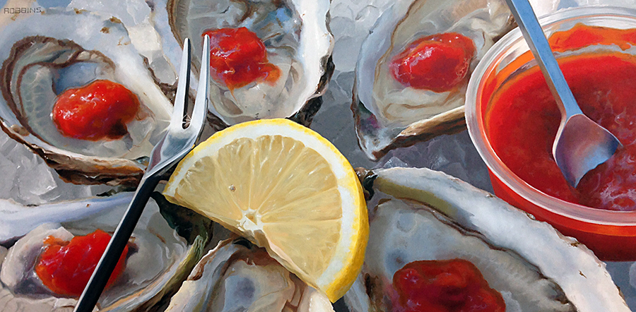 Oysters in the Afternoon, Nadine Robbins