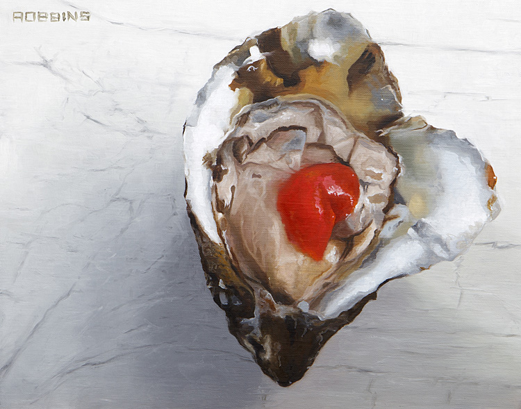 """Oyster Love - 11"""" x 14"""" Oyster Love - 11"""" x 14"""""""