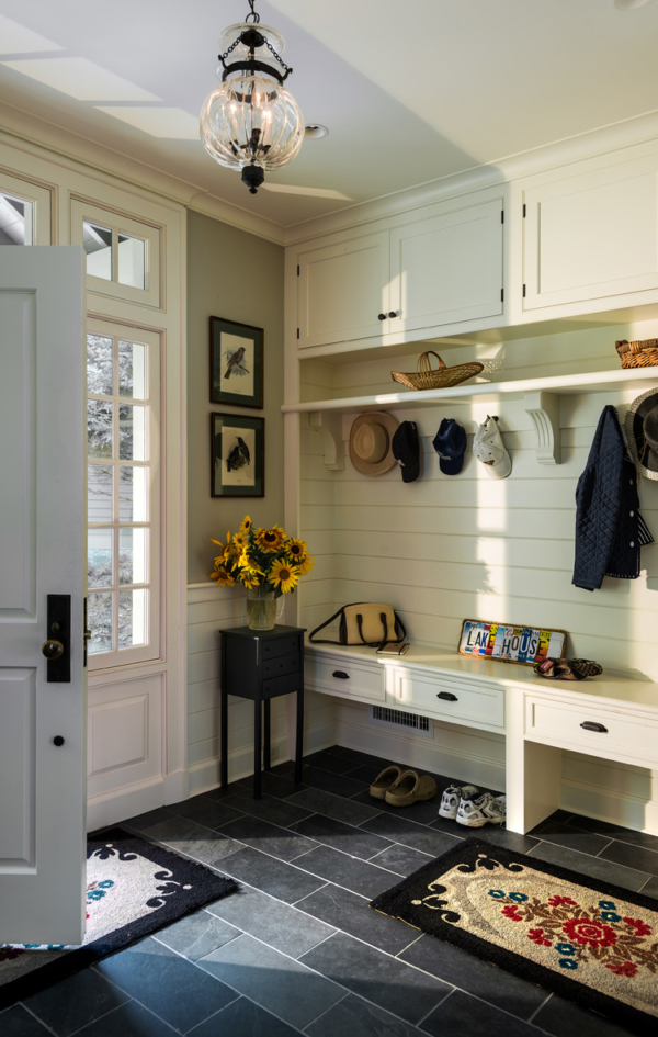 Bright Mud Room