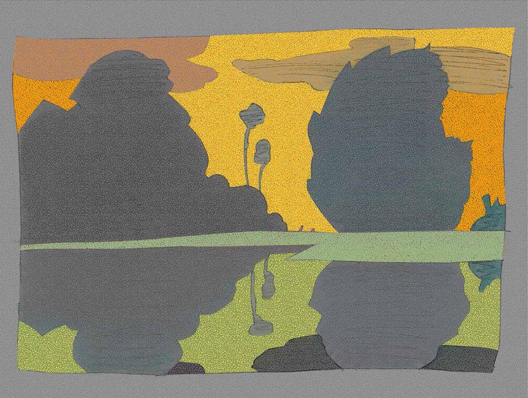Japanese Garden, Milton Glaser