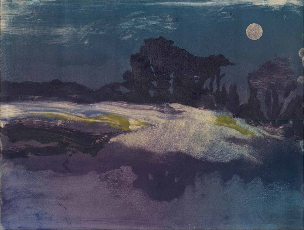 Night Landscape, Milton Glaser