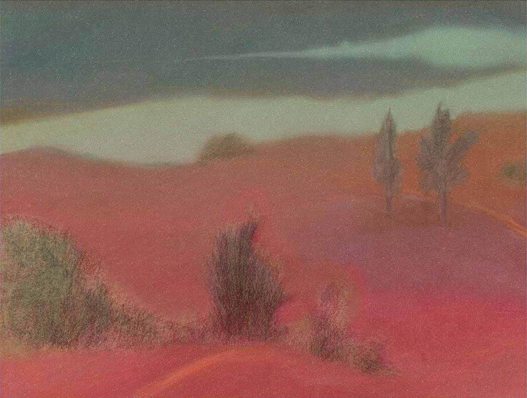 Pink Landscape, Milton Glaser
