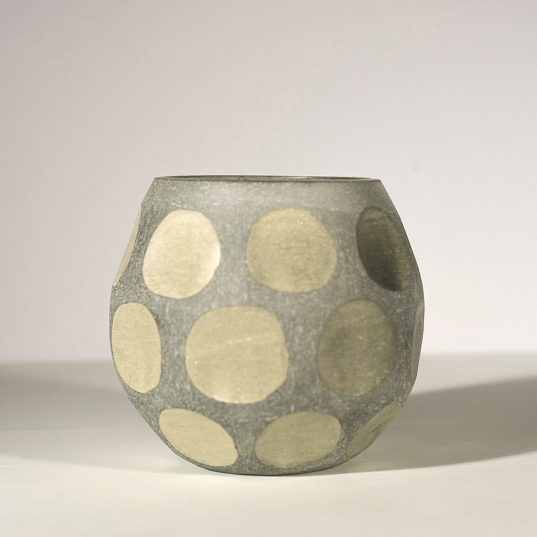 Dots Pattern Votive Holder