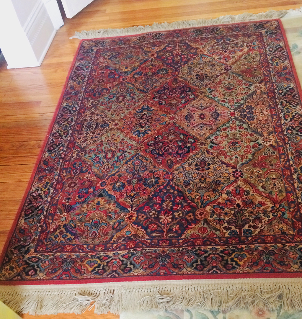 Karastan Multi Panel Kirman Rug -  SOLD
