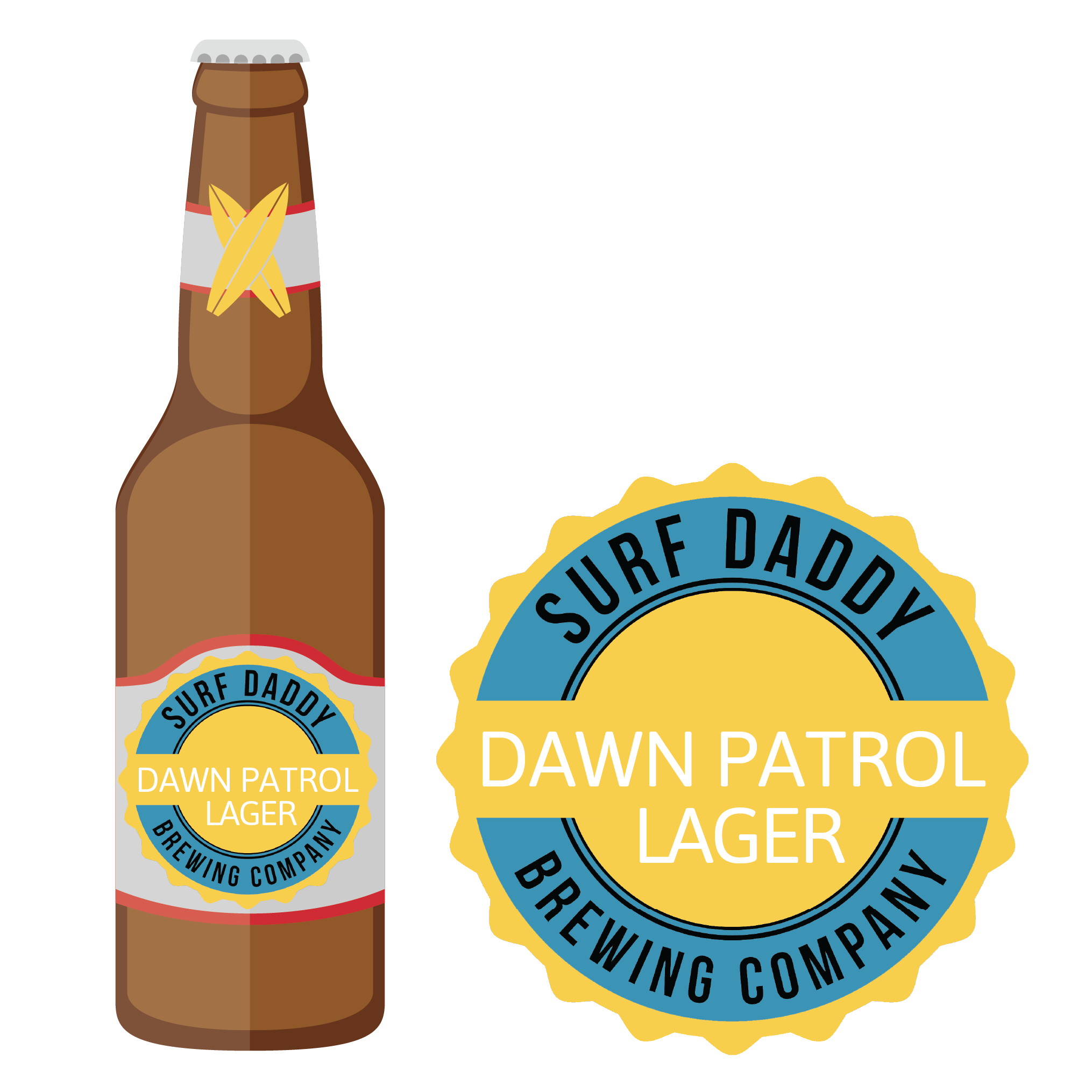 Surf Daddy Brewing Dawn Patrol Lager