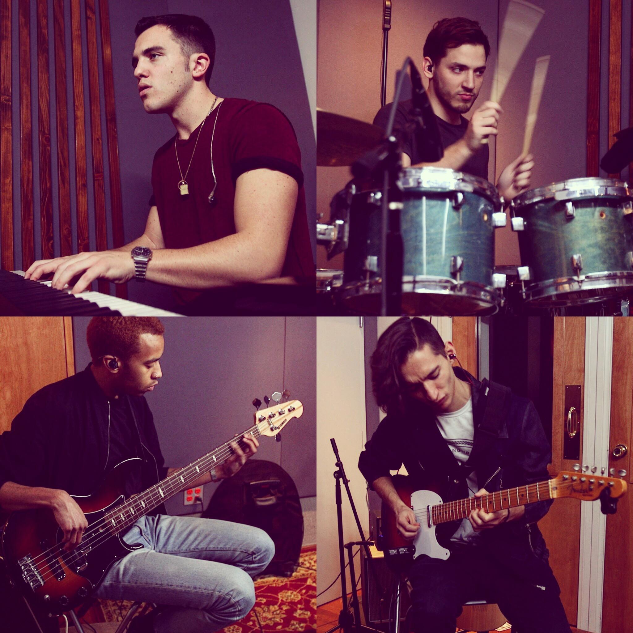 The Rhythm Section - Nikko Ielasi - KeysTito Pascoal - DrumsMats Sandahl - BassJuan Carreno Ariza - Guitar