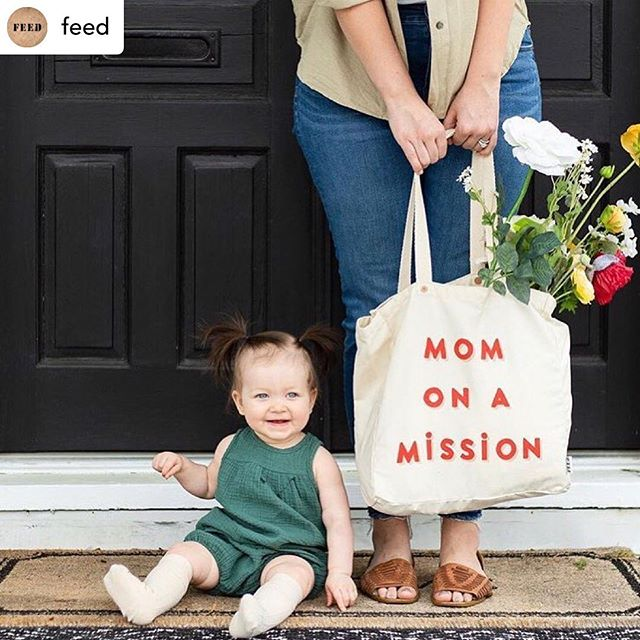 We hope the women in our lives who are always on a mission had a happy Mother's Day!  #repost #loupclient @feed  Posted @withrepost ・・・ 😍😍@steviestorck and little Sage celebrating mamas & motherhood and providing 10 school meals to children in need.
