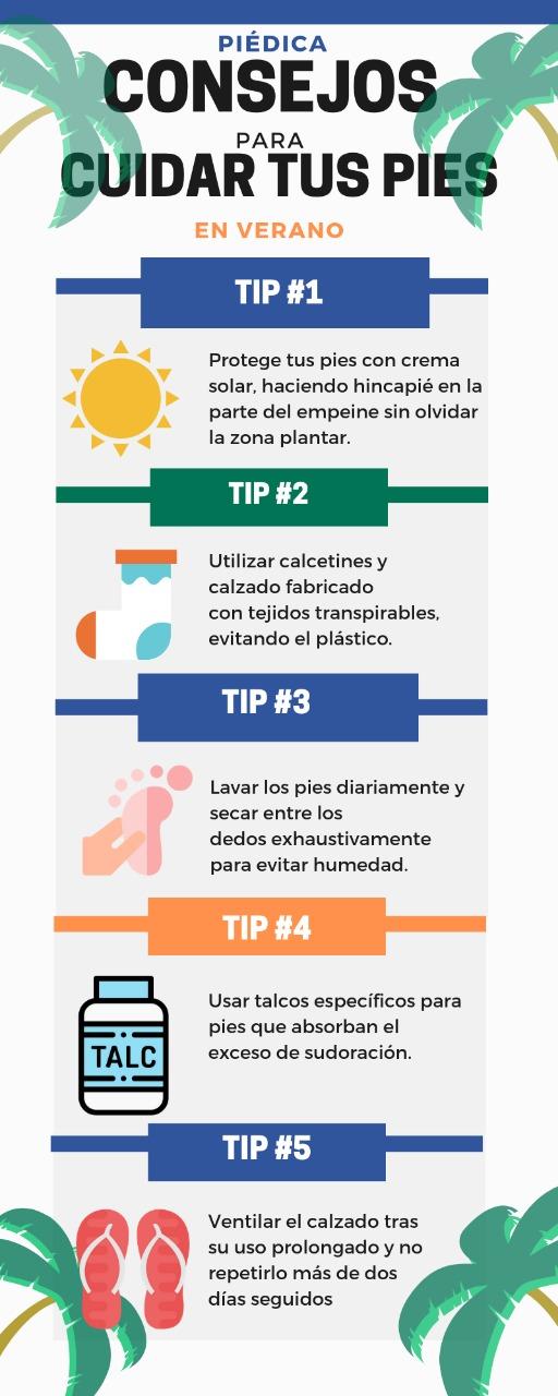 El sol puede afectar negativamente la piel de nuestros pies.
