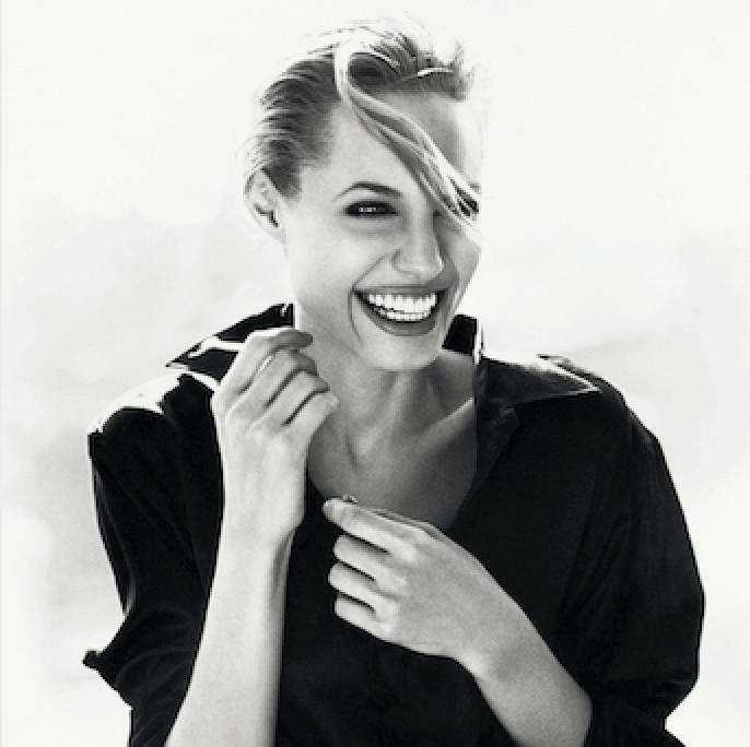 Angelina Jolie photo by Sante D'Orazio for Esquire