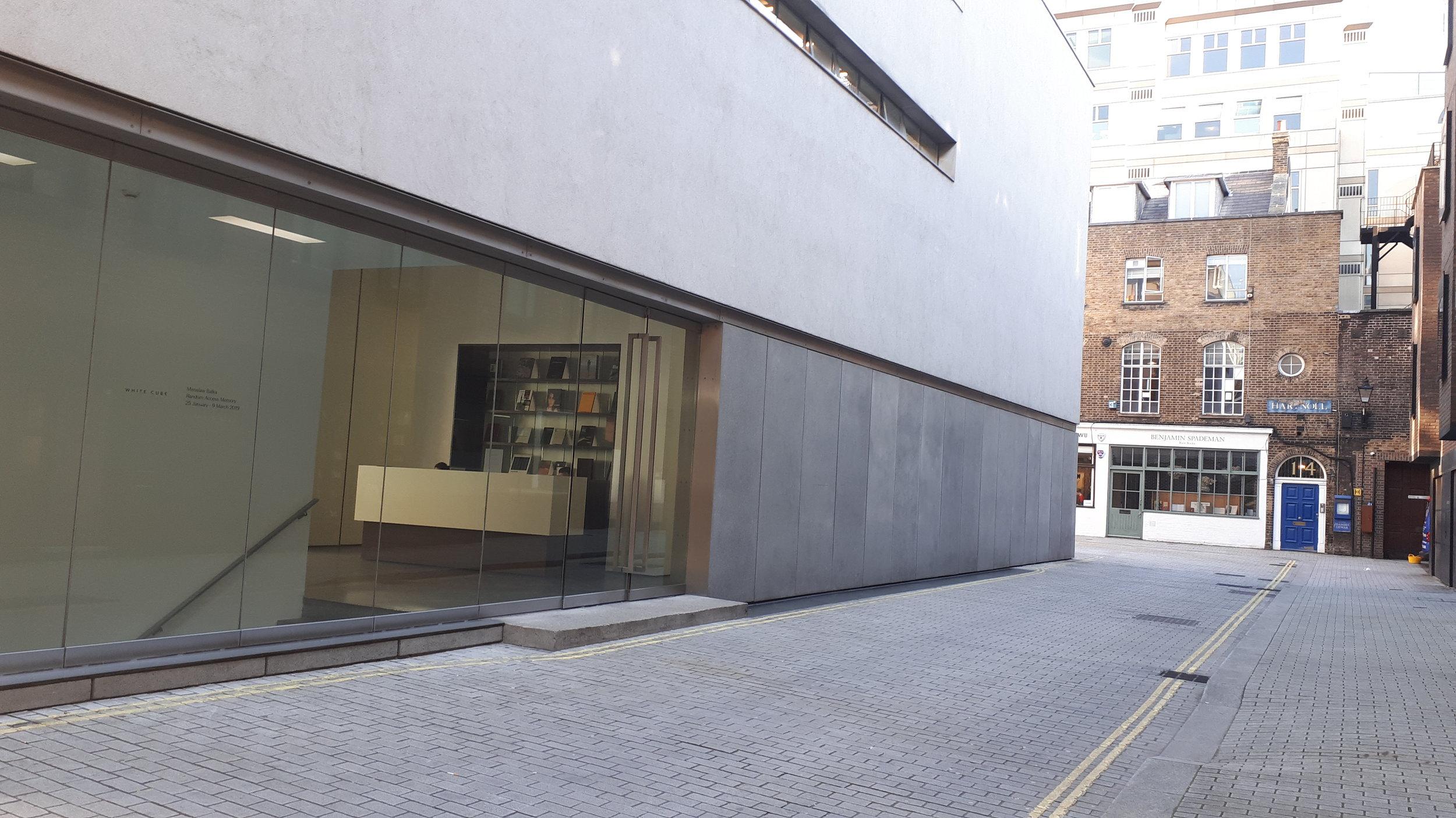 White Cube gallery, Mayfair, London