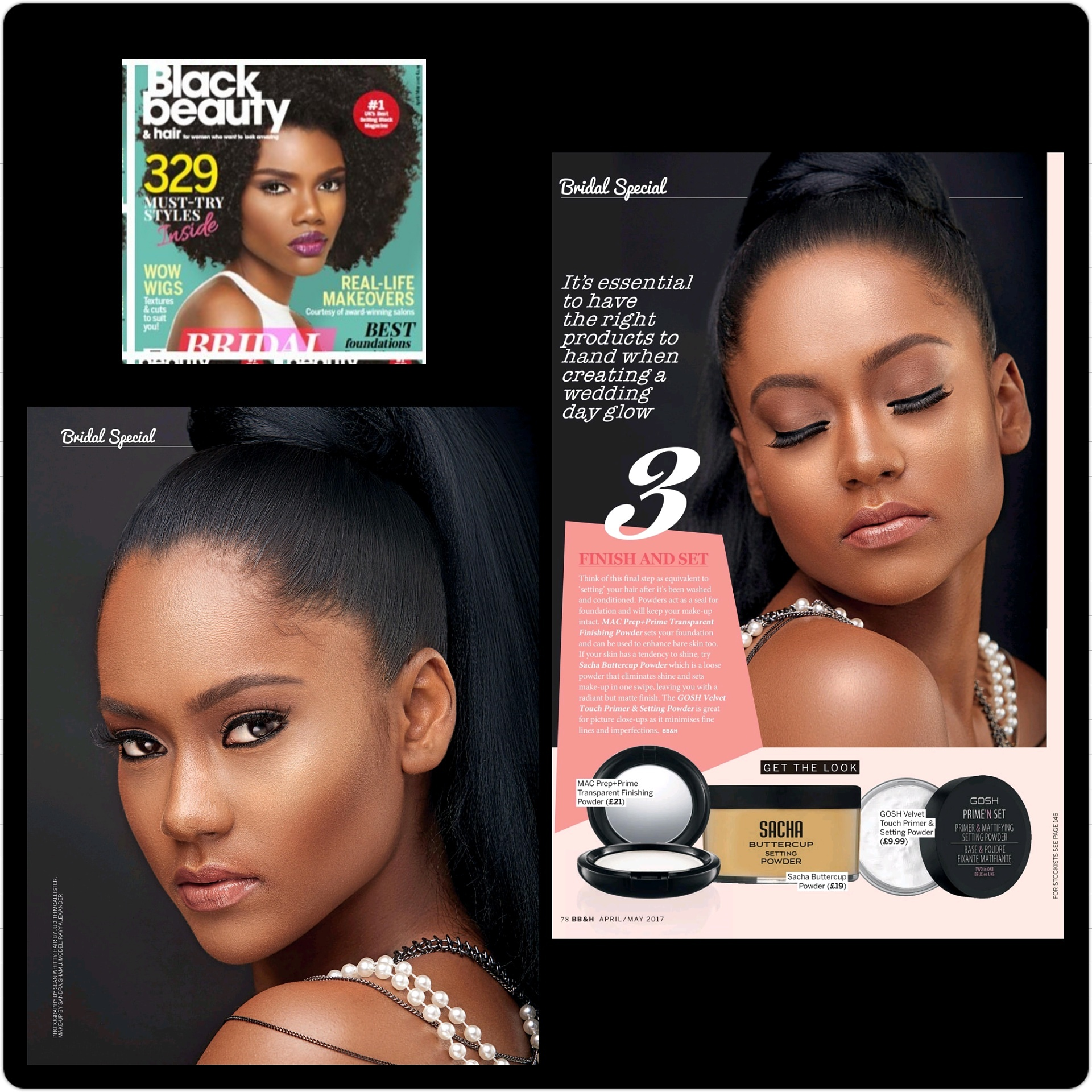 Black Beauty& Hair Magazine (April/May 2017)