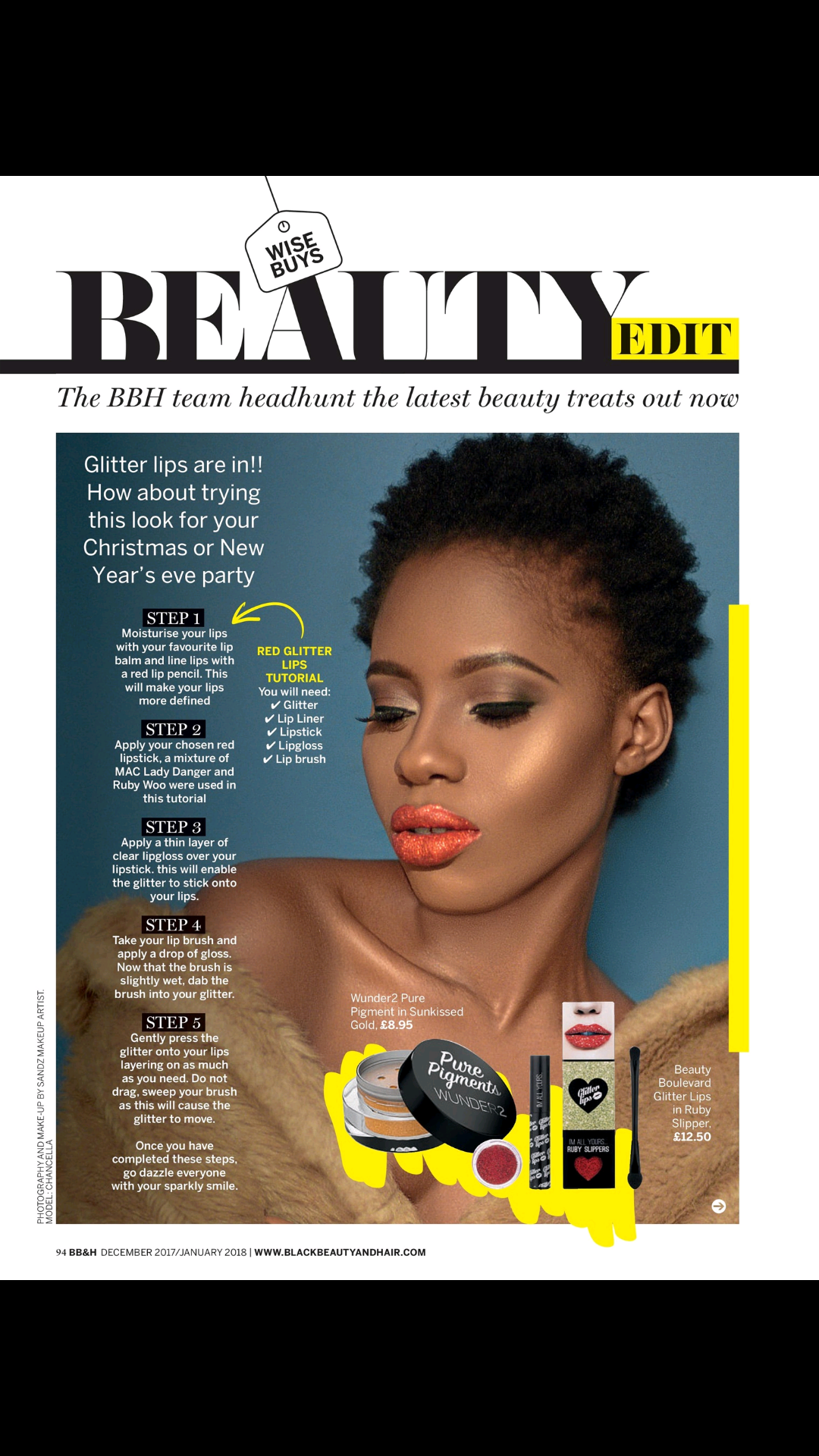 Black Beauty & Hair Magazine (Nov/Dec 17)