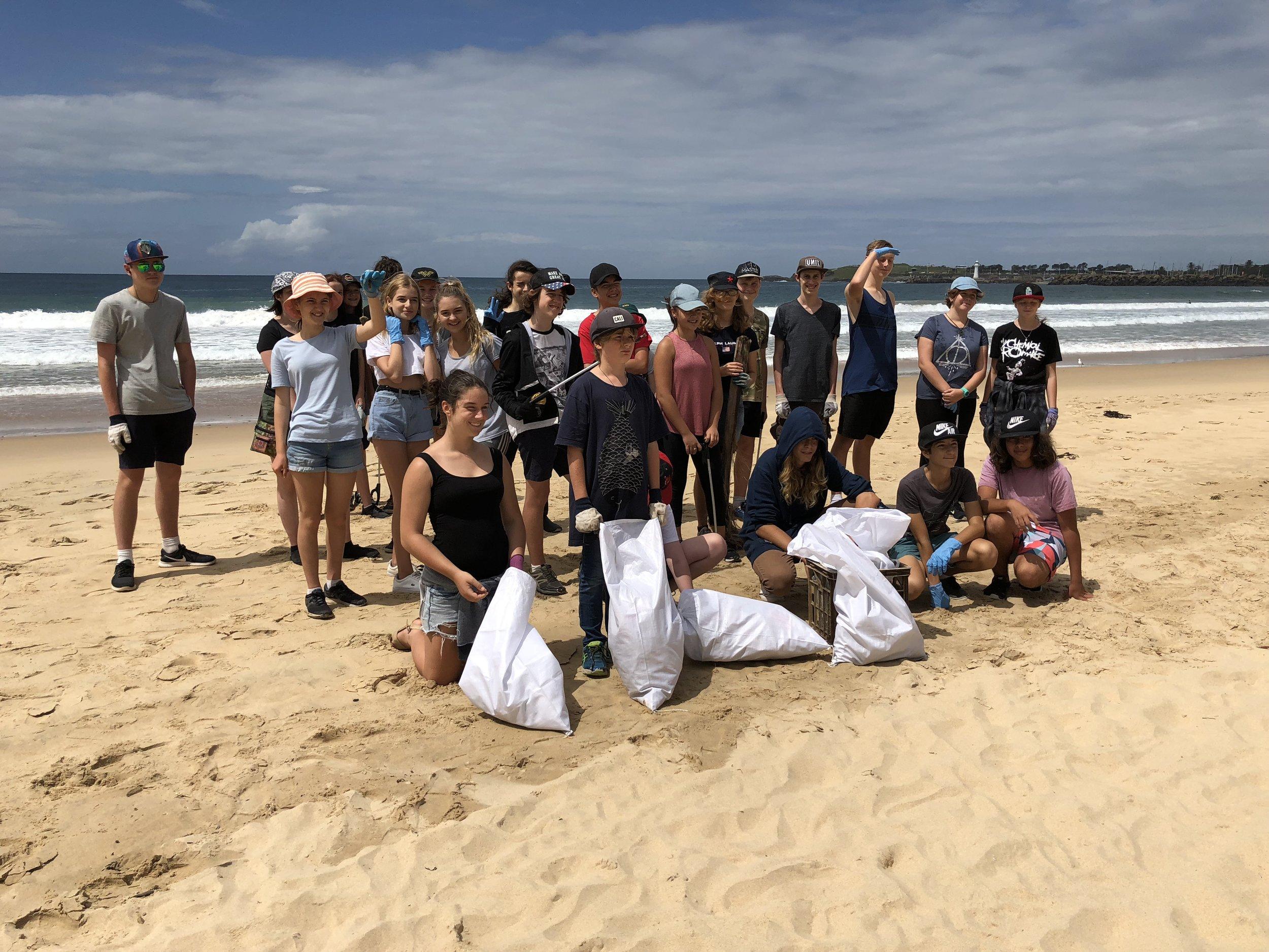 CAS Chanelle Beach Clean Up.jpg