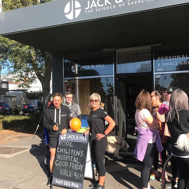 Great to see so many of you make some time for fitness on Good Friday and raise funds for the Royal Children's Hospital.  Enjoy your Easter with family and friends and I look forward to you joining the Jack & Hill team for the Mothers Day Classic in May.  All The Best  Simon
