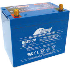 DC85-12   Dimensions: L260mm W170mm H211mm.  Weight: 25.1kg  12 Volts 85AH