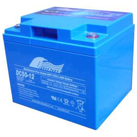DC50-12  Dimensions: L241mm W175mm H190mm. Weight: 18.5kg  12 Volts 50AH