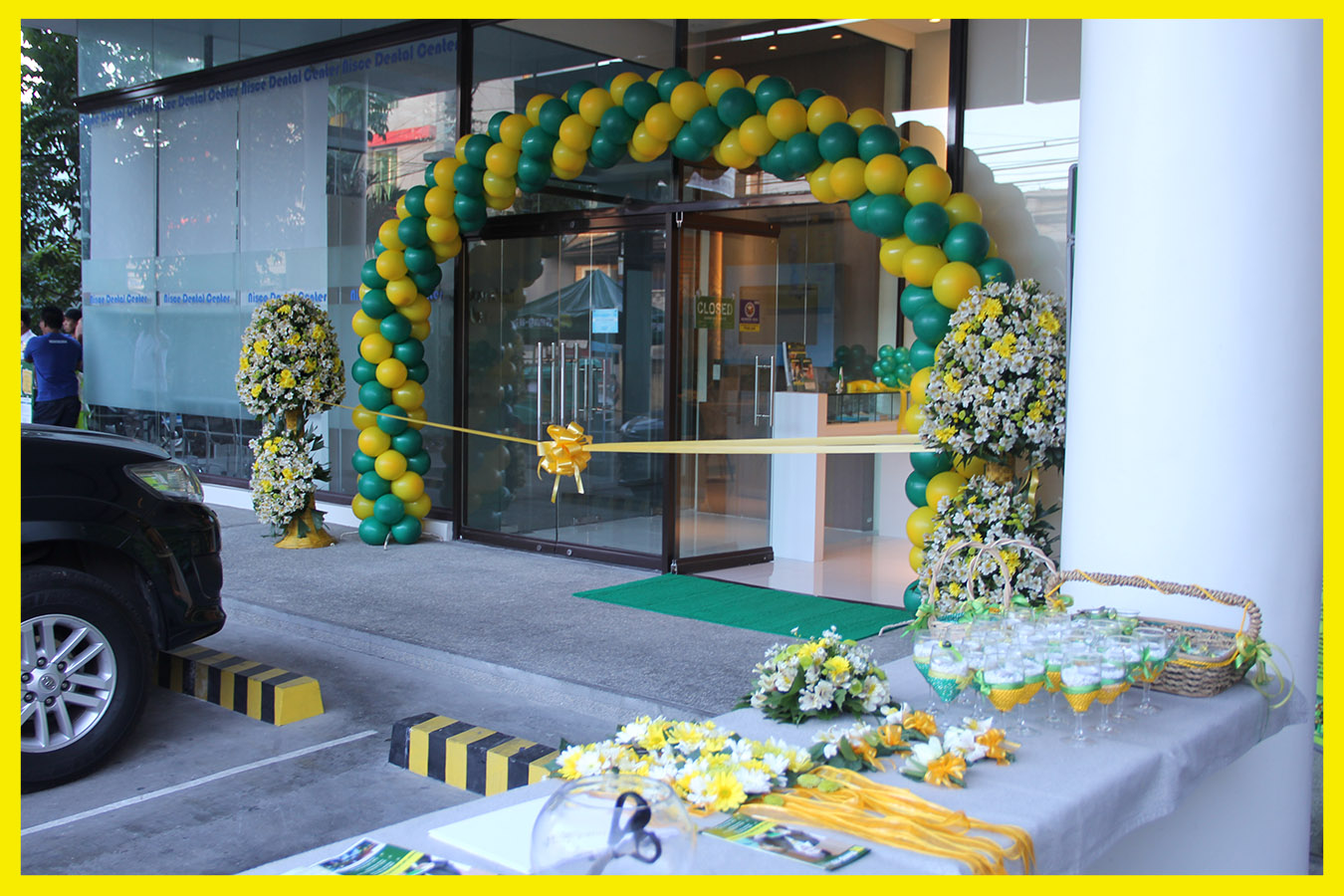 The entrance to the newest branch located along the national highway, at the ground floor of the ONP Building, City of San Fernando, La Union.