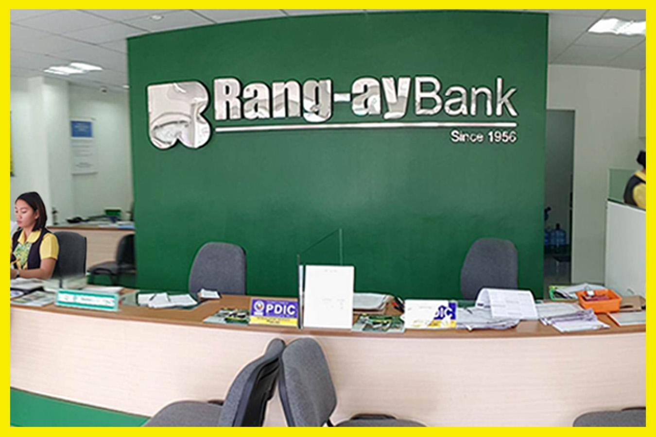 Inside view of the Rang-ay Bank Rosario (La Union) Branch