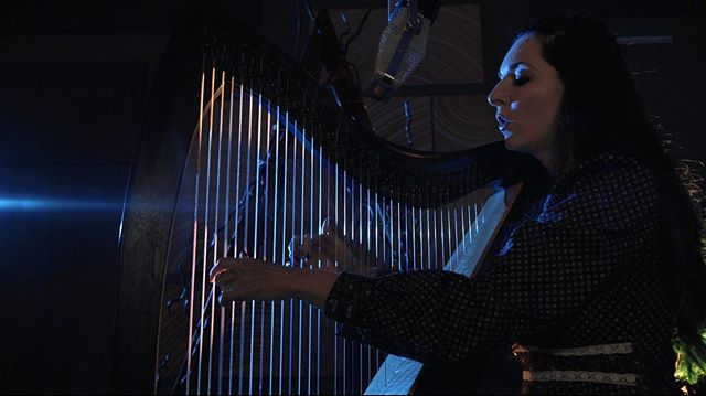 Dark, mythological, and full of wonder, we just wrapped the first part of an exciting new music video project with @joyshannon Here's the first test still and we're excited to share more soon! • • • • • #musicvideo #harp #celtic #production #mythology #lordoftherings #elven #fantasy #folk #filmproduction #joyshannonandthebeautymarks