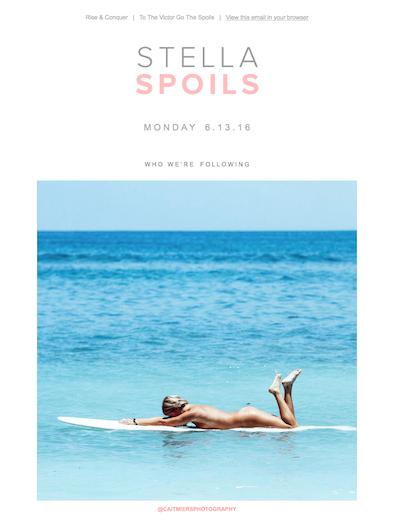 Image from Stella Spoil's June 13 newsletter.
