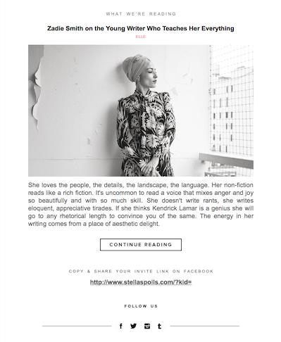 Image from Stella Spoil's June 20 newsletter
