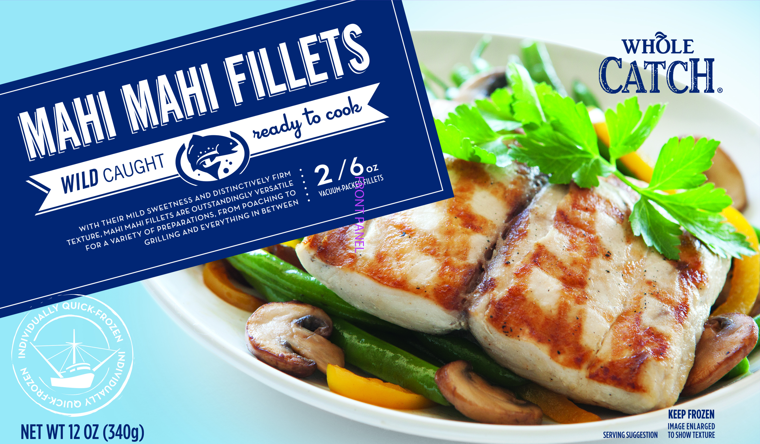 Raw Seafoods Mahi Fillets 12oz Bag (G01918) 140306.jpg