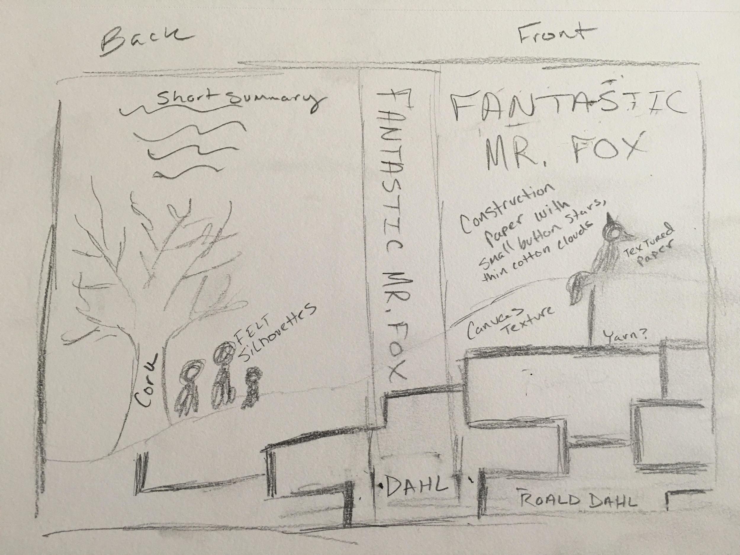 Fantastic Mr. Fox Sketch