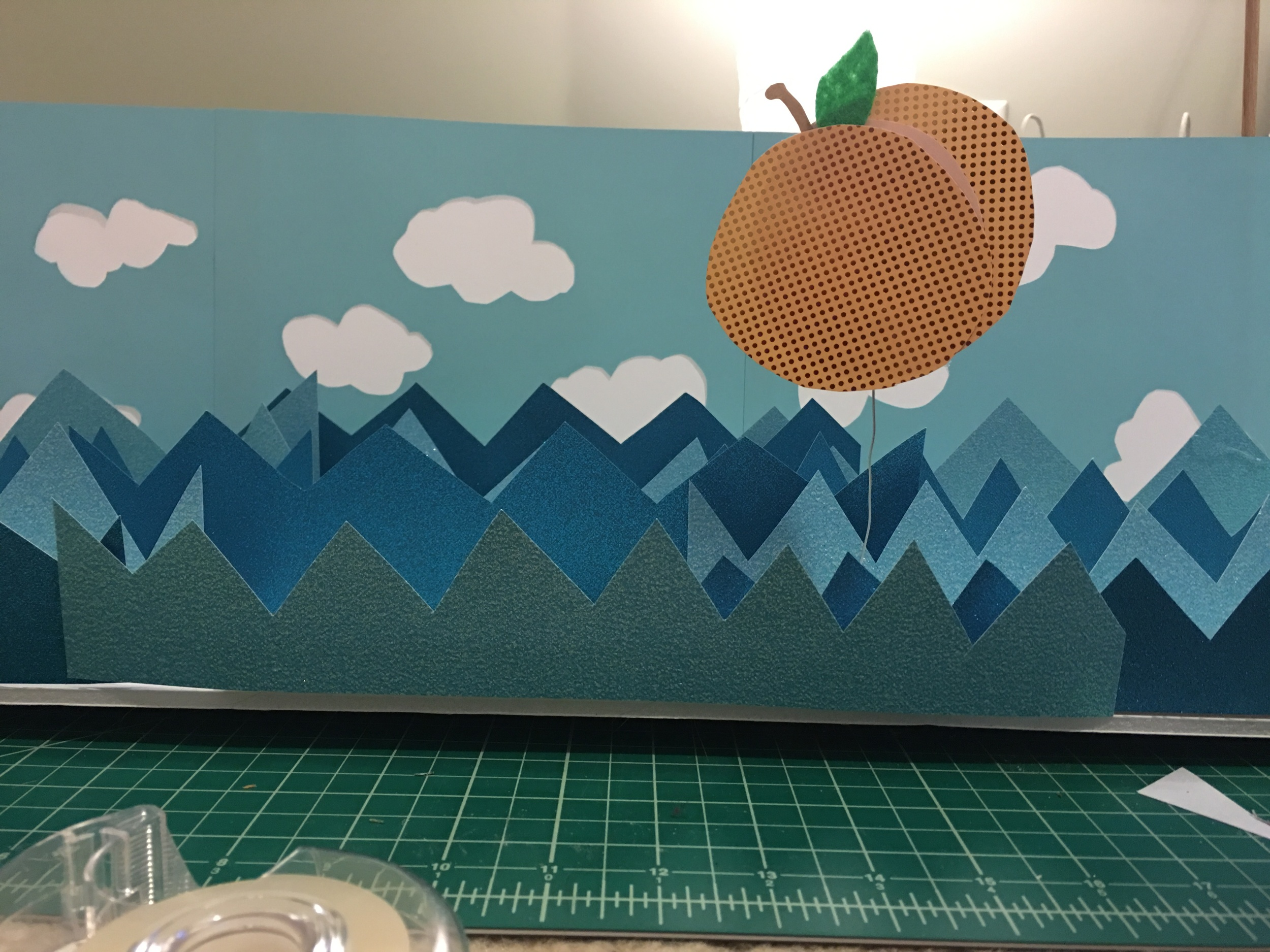 James and the Giant Peach in Progress