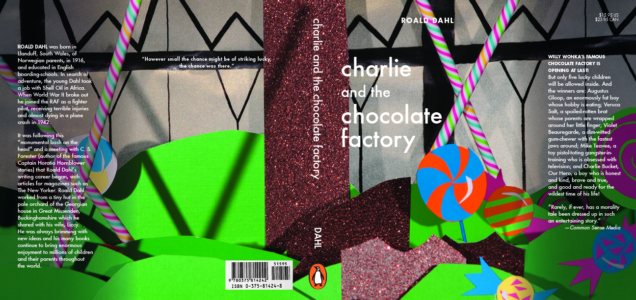 Charlie and the Chocolate Factory Dustjacket