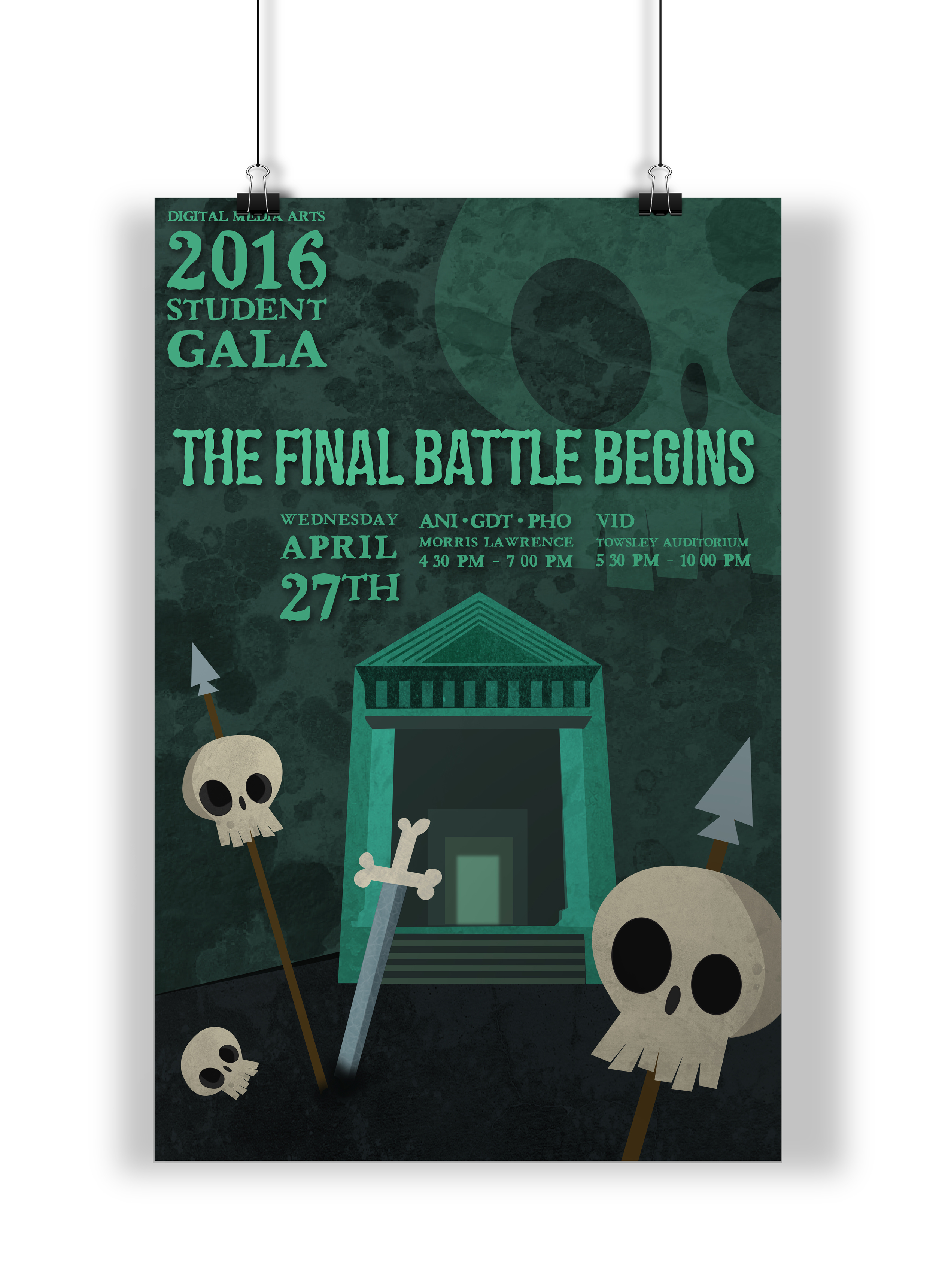 Student Gala Poster