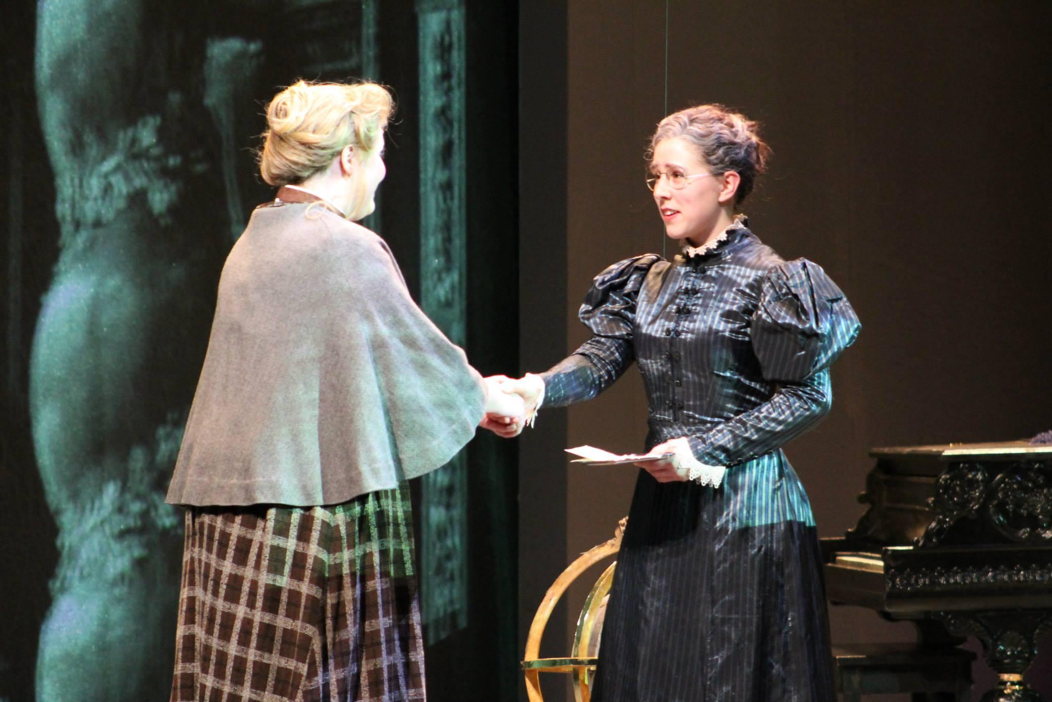Mrs. Grose in Britten's  The Turn of the Screw   Bard Graduate Vocal Arts Program 2014