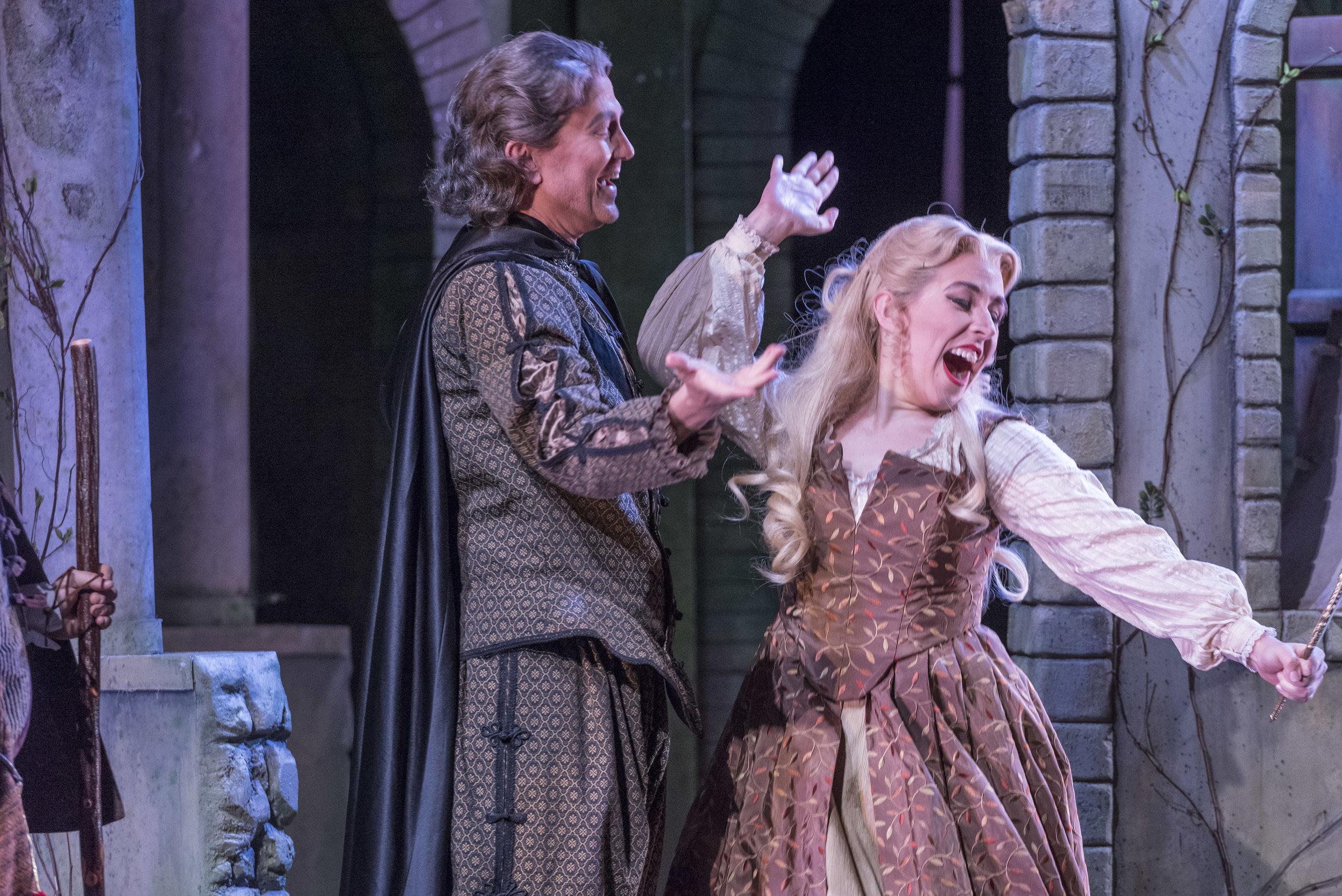 Lisbé in Grétry  Zémire et Azor   Opera Saratoga 2017  Gary David Gold, photographer