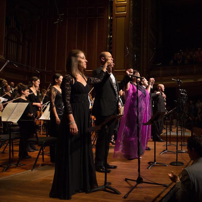 Sarahil in Gounod's  La Reine de Saba   Odyssey Opera 2018  Photo by Kathy Wittman