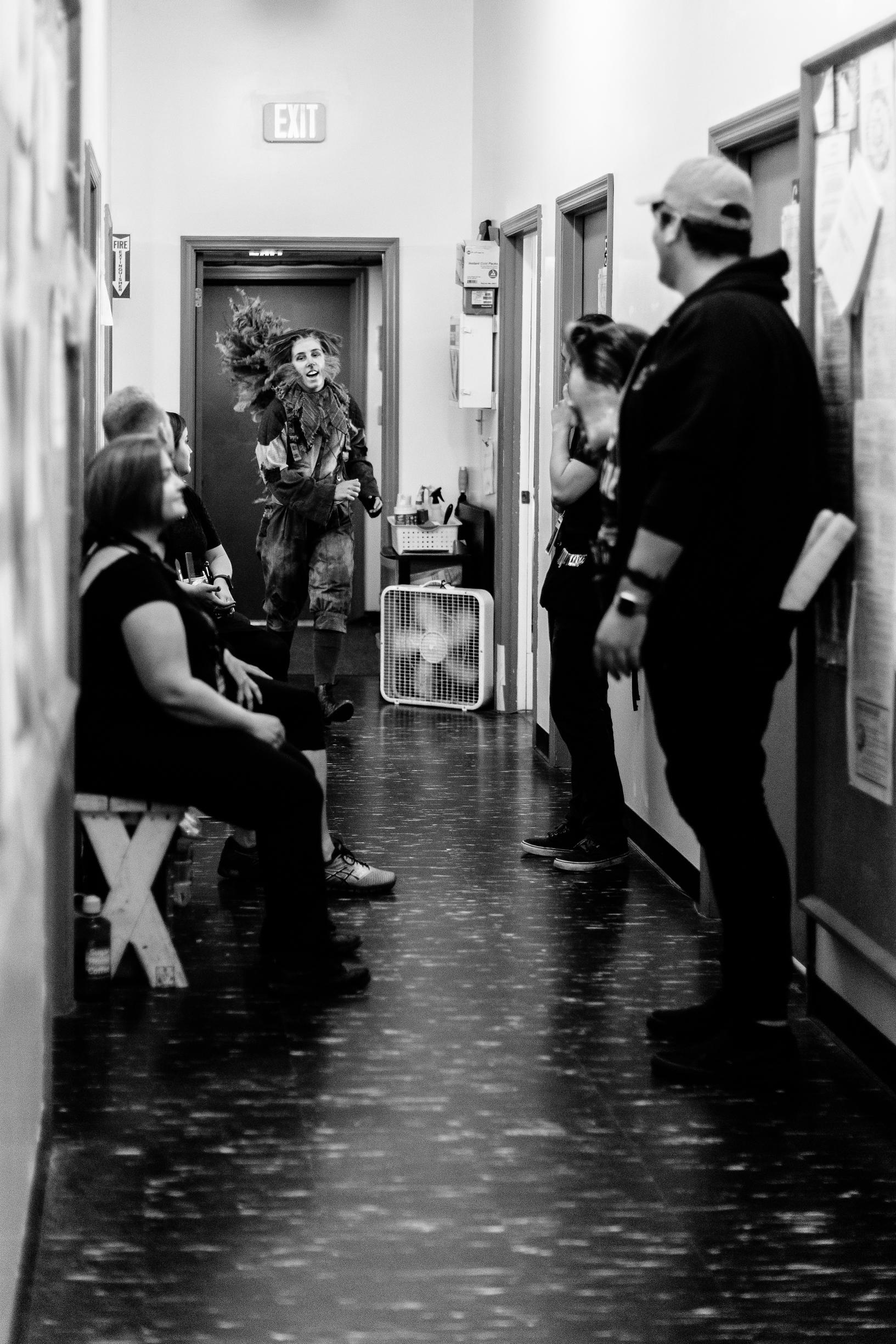 Backstage at The Glimmerglass Festival 2018  Photo: Karli Cadel