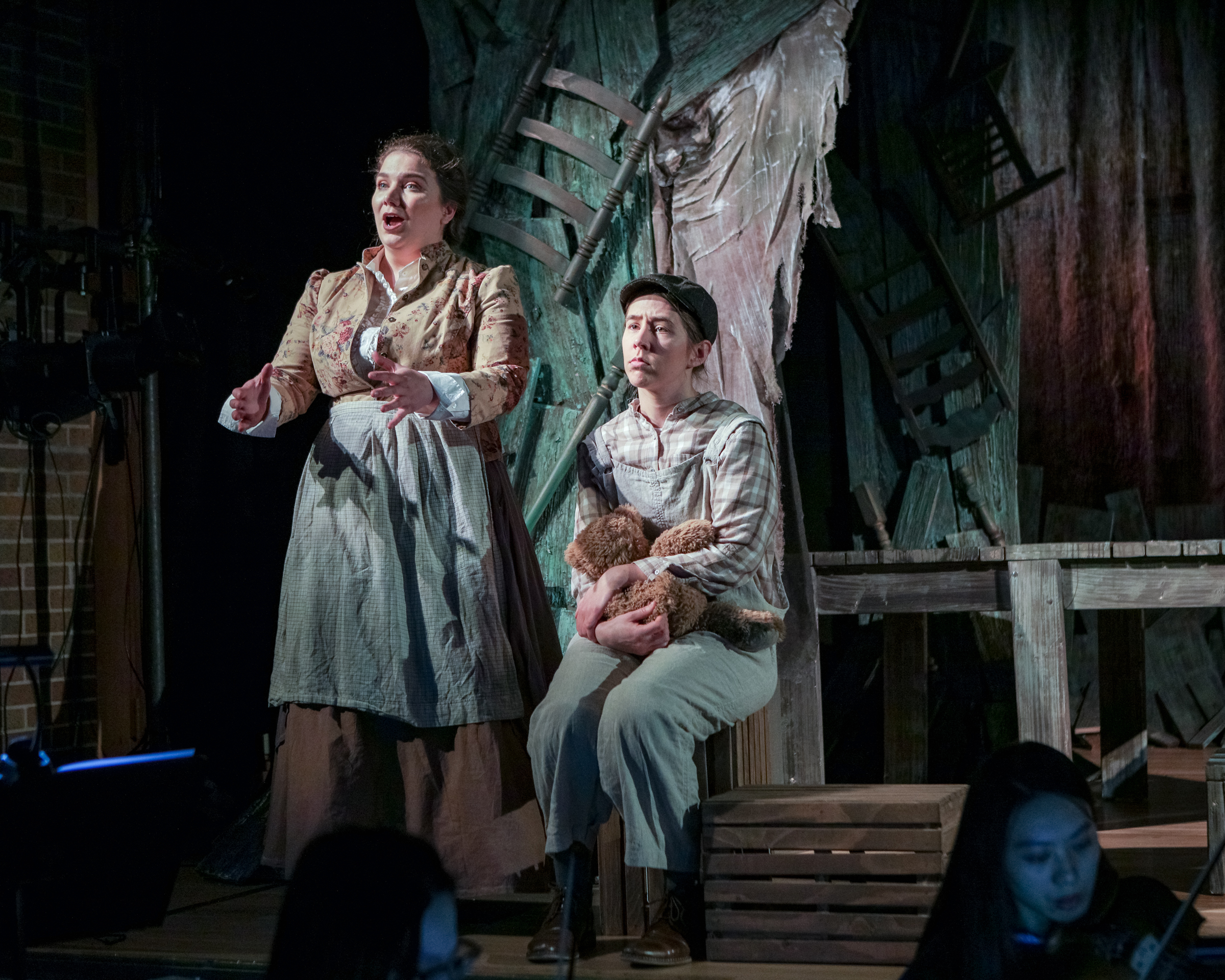 Brother in  The Scarlet Ibis , Boston Opera Collaborative 2019  Photo: Dan Busler Photography