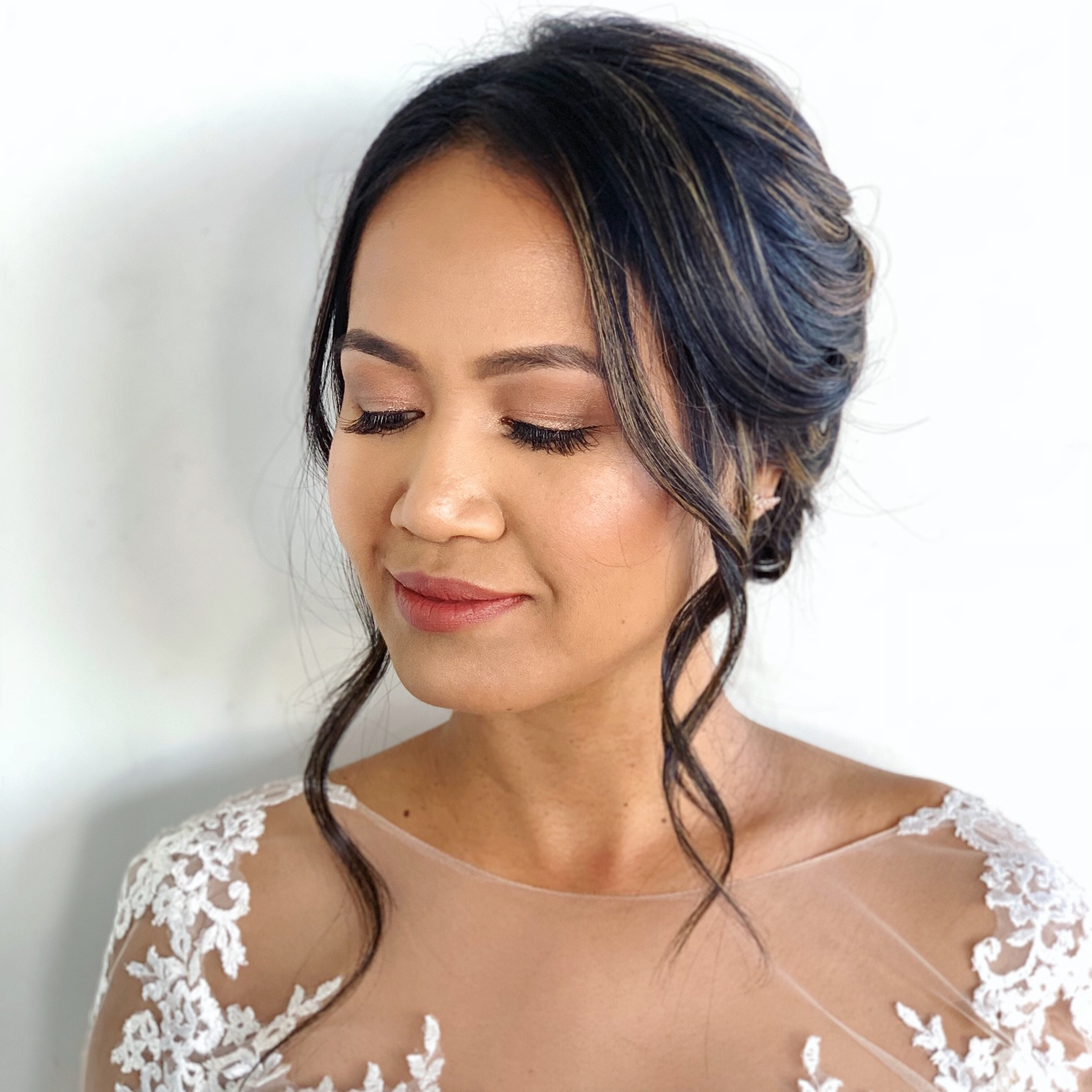 Bridal Client | Hair: Rofyah Le | Makeup by Ashley Tani